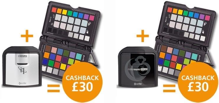 i1displaypro passport - X-Rite nabízí cashback £30 za nákup kalibrační sondy a terče