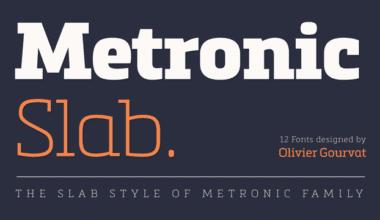 123459 380x220 - Font dňa – Metronic Slab Pro (zľava 75%, rodina 44,00€)