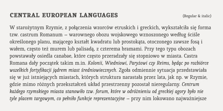 124357 - Font dňa – Quiroga Serif Pro (zľava 80%, od 5€)