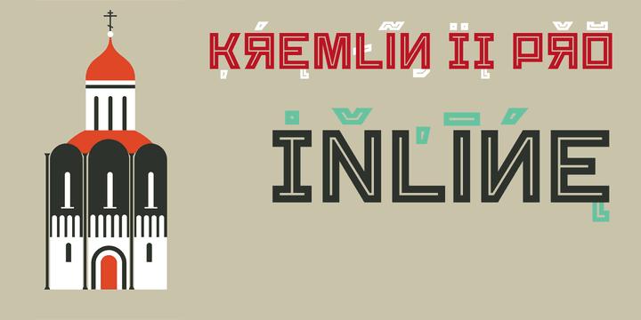 137252 - Font dňa – Kremlin II Pro (zľava 50%, komplet 16,00 €)