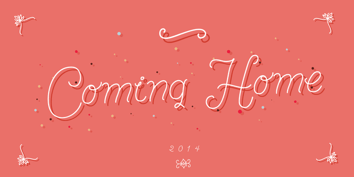 137375 - Font dňa – Coming Home (zľava 30%, od 10,50 €)