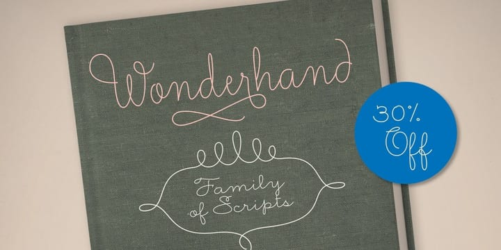 137823 - Font dňa – Wonderhand (zľava 30%, od 18,90 €)