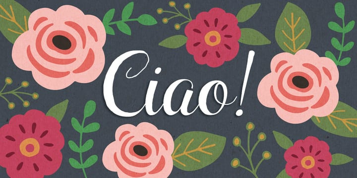 137972 - Font dňa – Ciao Bella (zľava 30%, od 6,99 €)