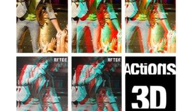 ACTION 3D by JonasFan931 380x220 - 3D akcie pre Photoshop zadarmo