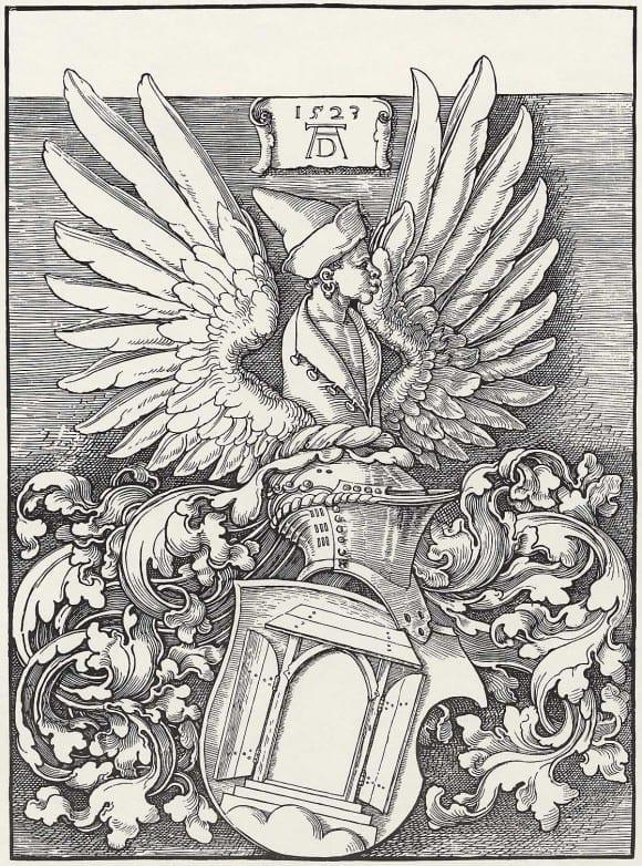 Erb rodiny Dürerových, 1523
