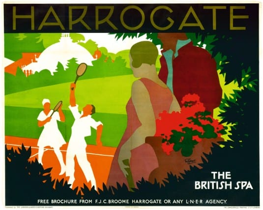 Poster, LNER, Harrogate
