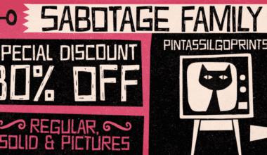 117077 380x220 - Font dňa – Sabotage (zľava 30%, rodina 21,69€)