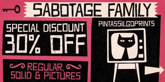 117077 580x290 - Font dňa – Sabotage (zľava 30%, rodina 21,69€)