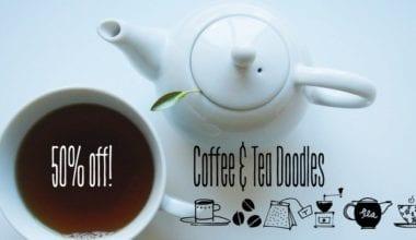 137239 380x220 - Font dňa – Coffee & Tea Doodles (zľava 50%, 9,50 €)