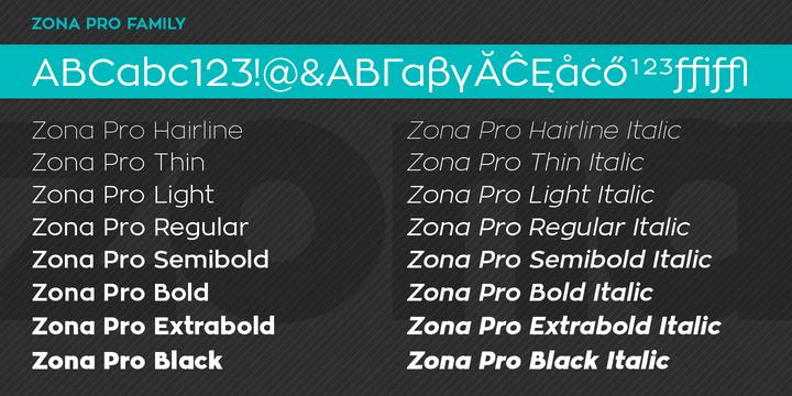 137873 - Font dňa – Zona Pro (zľava 50%, rodina 16,50 €)