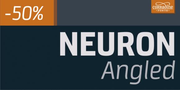 138937 580x290 - Font dňa – Neuron Angled (zľava 50%, od 10,00€)