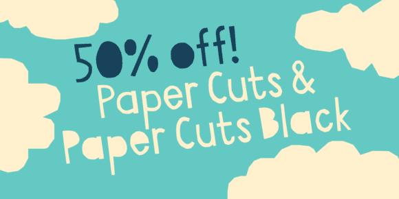 139678 580x290 - Font dňa – Paper Cuts