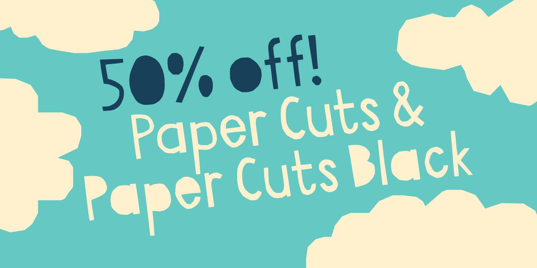 139678 - Font dňa – Paper Cuts