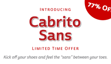 140257 380x220 - Font dňa – Cabrito Sans (zľava 33%, rodina 69€)