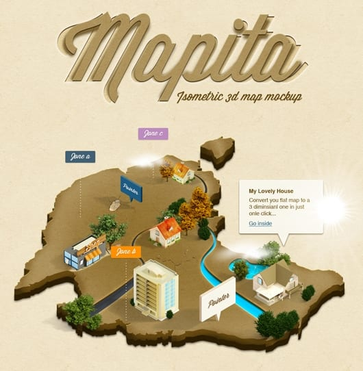 Mapita1 - Akcia na vytvorenie 3D mapy zadarmo