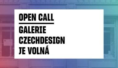 open call tiskova zprava2 380x220 - GALERIE CZECHDESIGN JE VOLNÁ