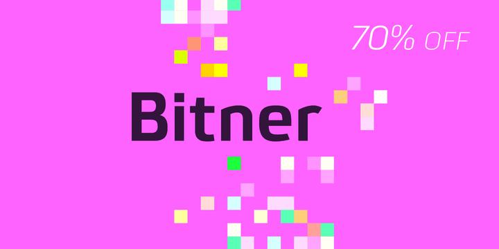 1413001 - Font dňa - Bitner (zľava 50%, od 7,80€)