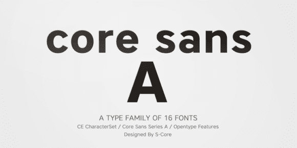 142008 580x290 - Font dňa – Core Sans A (zľava 80%, od 3€)