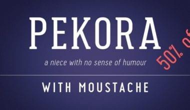 142050 380x220 - Font dňa – Pekora (zľava 50%, od 5€)