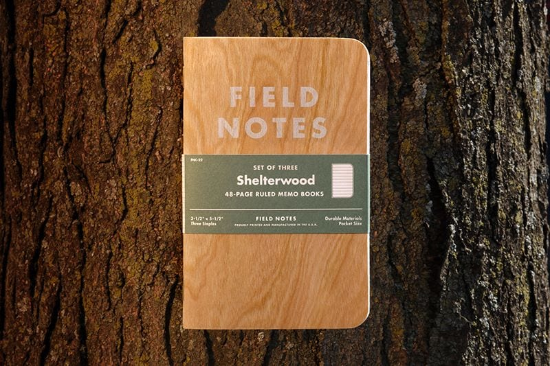 14882 10152269629457731 309724765 n - Zápisniky z wisconsinského dreva? Nová edícia Field Notes