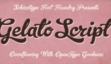 62930 380x220 - Font dňa – Gelato Script (zľava 50%, 20,00€)