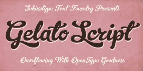 62930 580x290 - Font dňa – Gelato Script (zľava 50%, 20,00€)