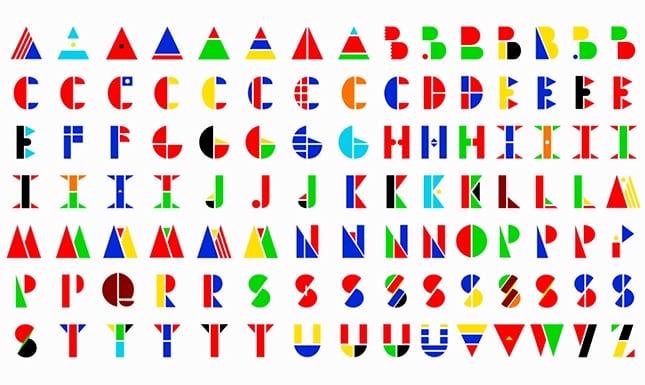 TypefaceMain - Svetová abeceda