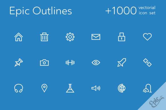 cover over 1000 580x386 - Skvelá ponuka z Dealotto – set outline ikon len za 15 dolárov!