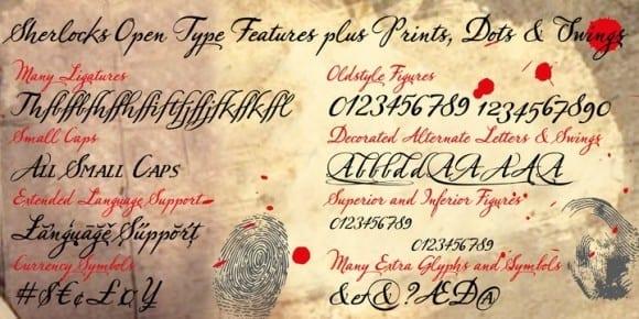 141367 580x290 - Font dňa – Sherlock Script