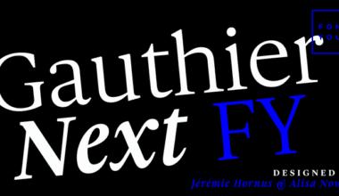 142080 380x220 - Font dňa – Gauthier Next FY (zľava 50%, od 25€)
