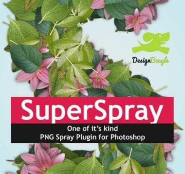 DBSuperSprayMain 380x356 - Photoshop pluginy, ktoré šetria čas II.