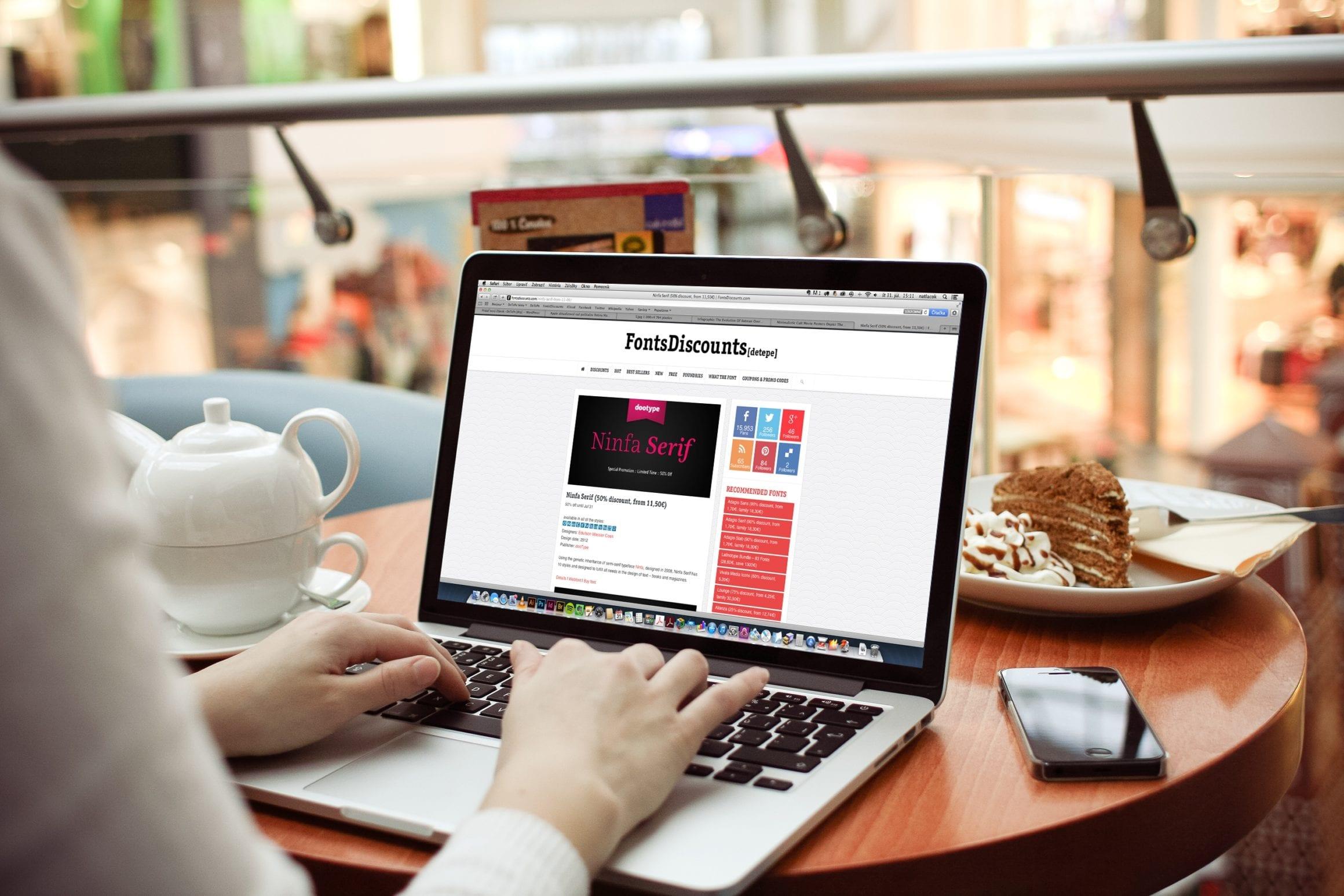 MacBook Pro PSD Mockup - Aktualizácia Macbook Pro