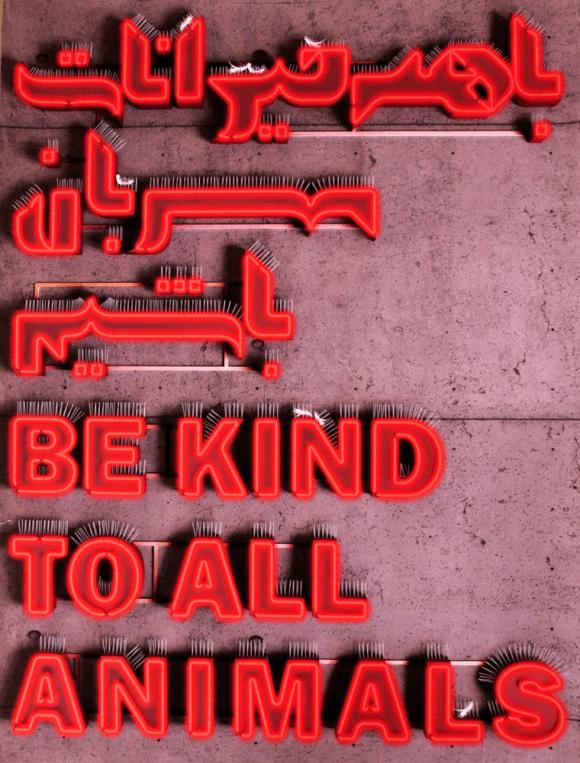 SAEEDI MEHDI be kind to all.Iran  580x763 - Ekoplagát v Žiline stále kráča ďalej
