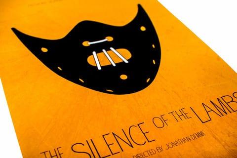 TheSilenceoftheLambs large - Celý film v jedinom vizuále – minimalistické plagáty