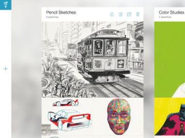 sketch2 380x285 - Nové aplikácie od Adobe vedia skicovať aj retušovať