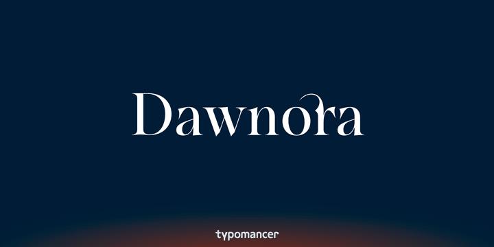 144711 - Font dňa – Dawnora