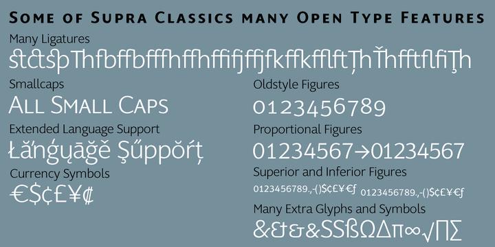 145576 2 - Font dňa – Supra Classic (zľava 50%, od 10€)