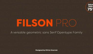 145884 380x220 - Font dňa – Filson Pro (zľava 75%, komplet 42,25€)