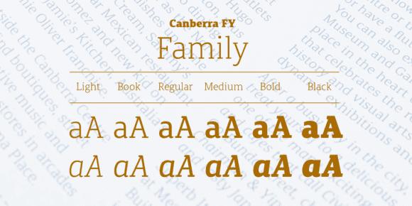 146025 580x290 - Font dňa – Canberra FY (zľava 50%, od 17,50€)