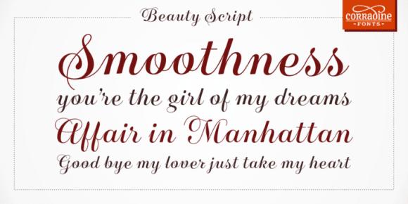 1462611 580x290 - Font dňa – Beauty Script (zľava 35%, 10,39€)