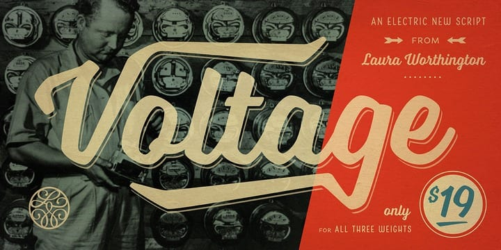 146288 - Font dňa – Voltage (rodina 12,99€)