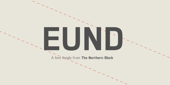 146751 - Font dňa – Eund (zľava 75%, od 7€)