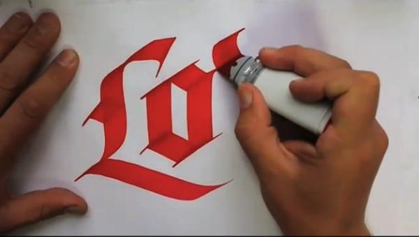1 - Side project na dnes – Kefková kaligrafia