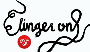 147842 380x220 - Font dňa – Linger On (zľava 50%, 5,50€)