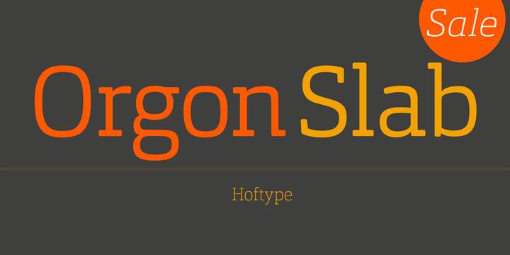 148122 - Font dňa – Orgon Slab (zľava 50%, rodina 71,50€)
