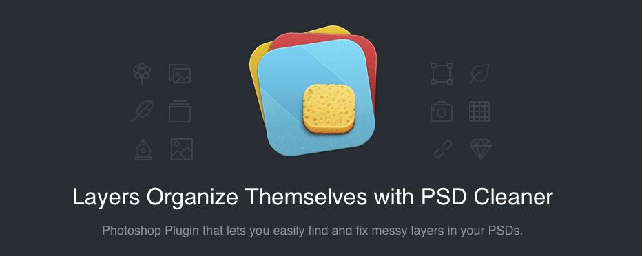 PSD cleaner - Poriadok v layeroch s pluginom PSD cleaner