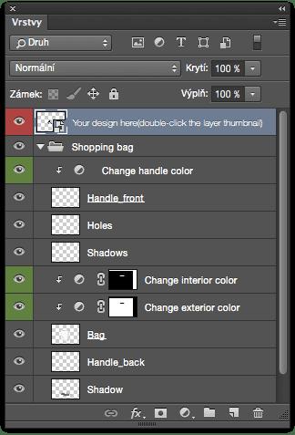photoshop vrstvy - Užitočné skratky vo Photoshope I.