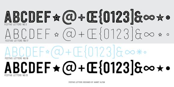 117469 580x290 - Font dňa – Festivo Letters (zľava 80%, komplet 13,60€)