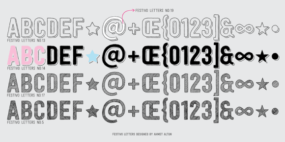 117471 580x290 - Font dňa – Festivo Letters (zľava 80%, komplet 13,60€)