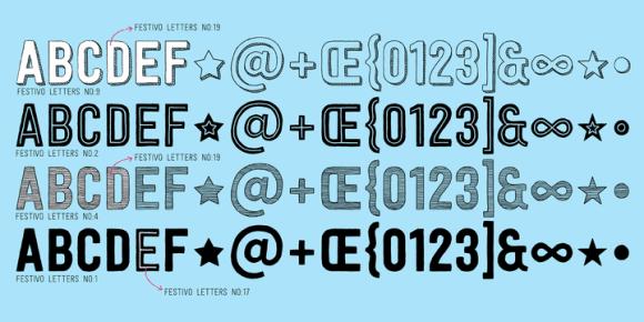 117472 580x290 - Font dňa – Festivo Letters (zľava 80%, komplet 13,60€)
